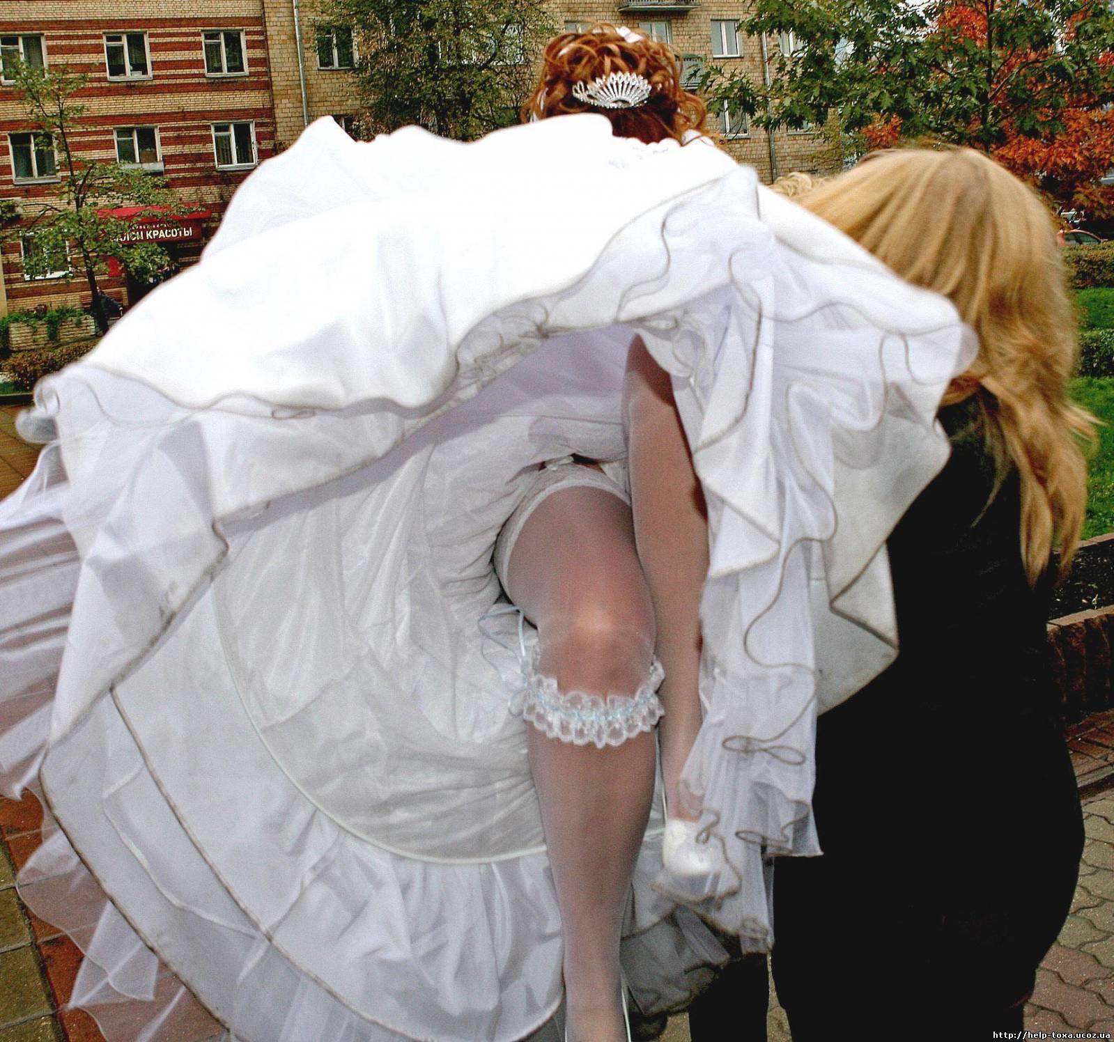 Эротика невесты под юбкой 9 фотография